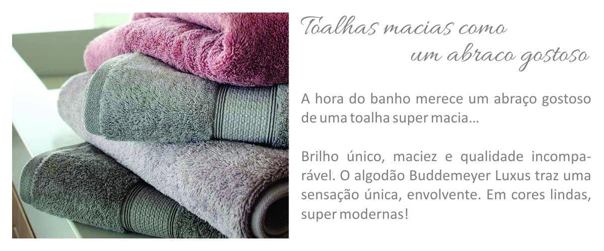 Toalha Banho Buddemeyer Fio Penteado Canelada – Cor 1011 Branco