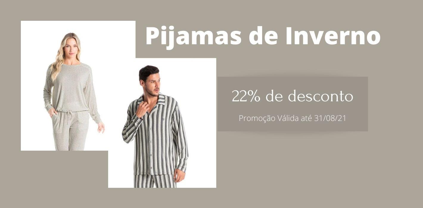 Promoção Pijamas de Inverno com 22%